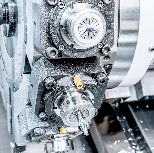CNC Turned Machine